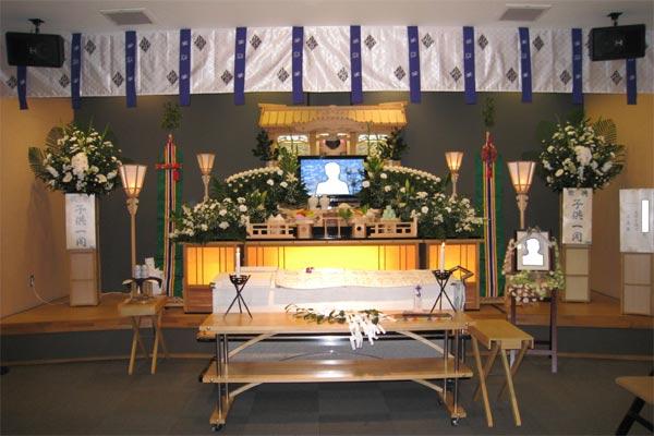 神道のお葬式にも対応しています。糸島葬儀の羅漢