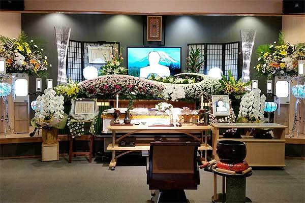 糸島葬儀羅漢の100名様までの祭壇プラン