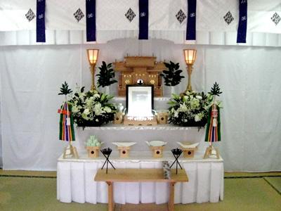 初盆祭壇 神代