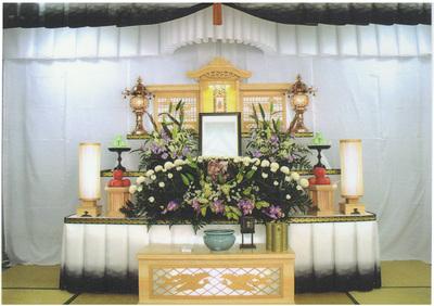 初盆祭壇 雅