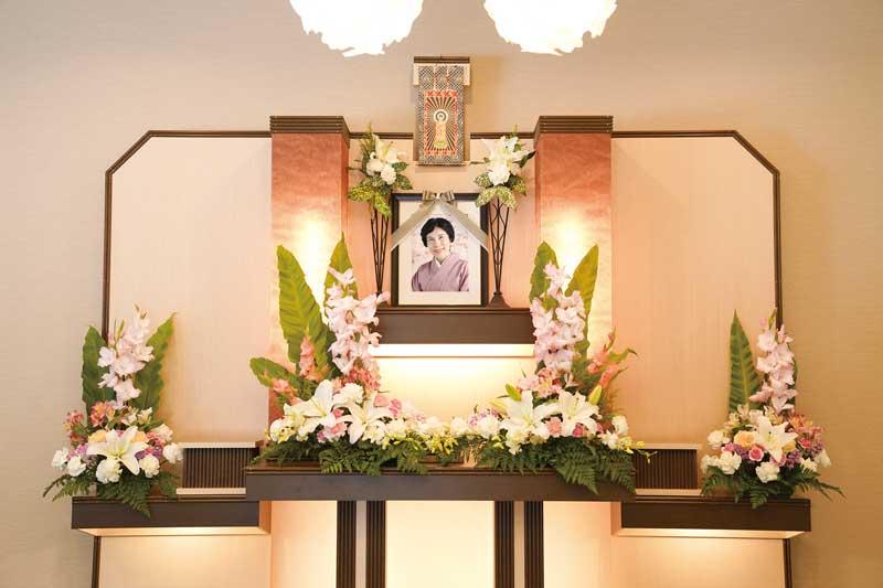 梅花・花祭壇