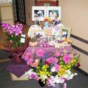糸島葬儀羅漢の祖母の手づくり作品をお飾り