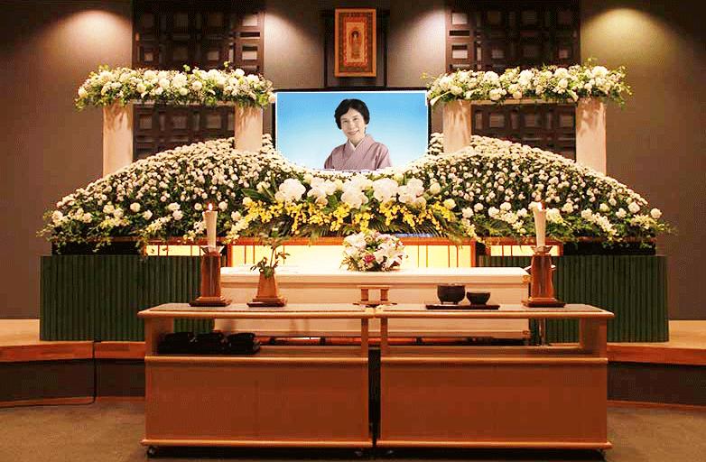 桜花・花祭壇