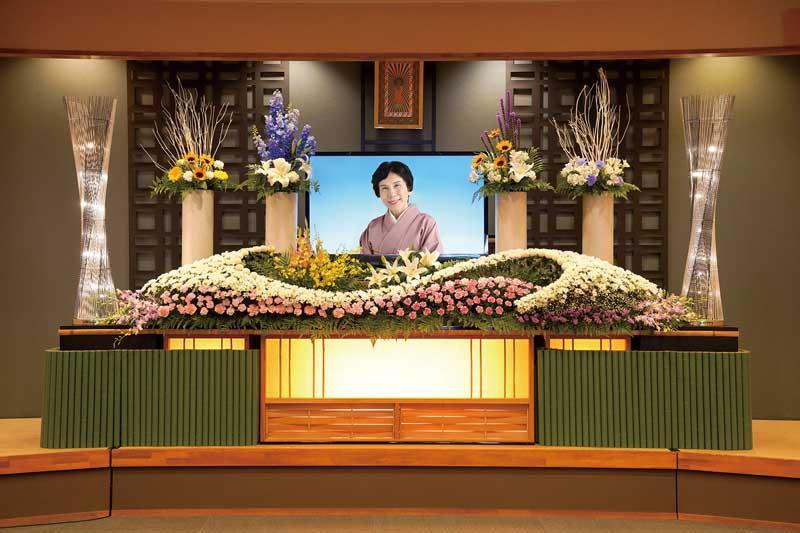 桃花・花祭壇