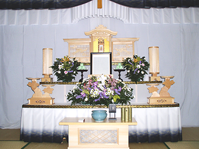 初盆祭壇 宝珠